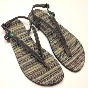 Sanuk Gray Sandals